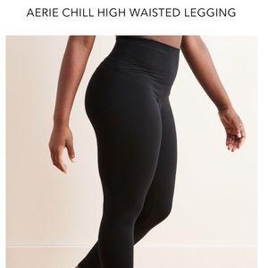 Aerie chill high waisted legging black